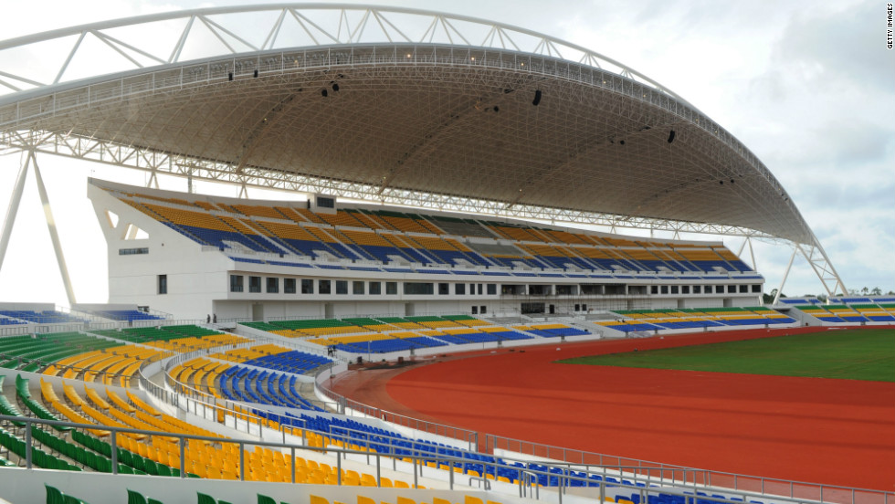Four stadiums will host the matches, including this one in the Gabonese capital Libreville, where the final will be held on February 12. Gabon's other games will be played in Franceville, while Equatorial Guinea's fixtures are to be staged in the cities of Bata and Mataba.