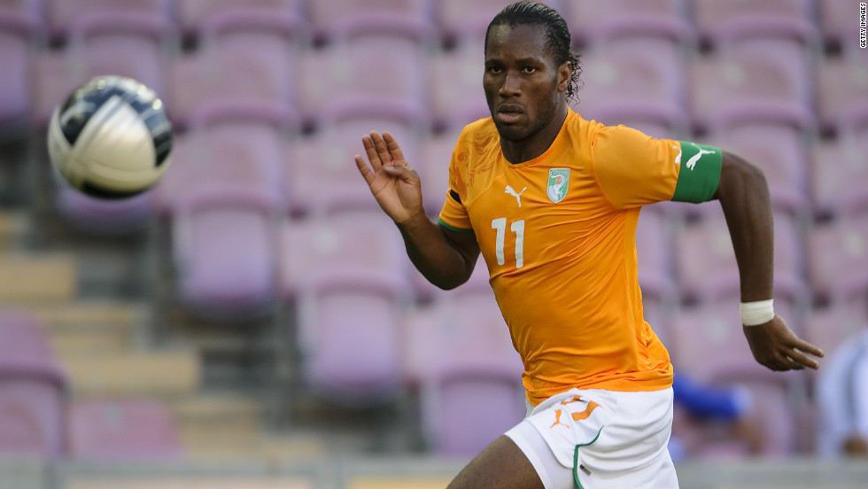 The improvement in the quality of  African soccer over the past few decades is underlined by the number of global superstars participating in the tournament. Ivory Coast striker Didier Drogba, who plays for English Premier League club Chelsea, is an iconic figure in Africa and is also a Goodwill Ambassador for the United Nations.