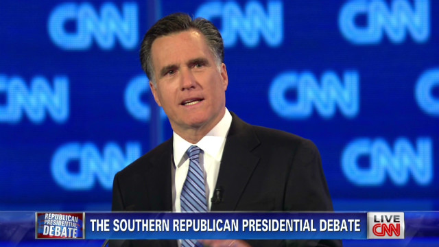 Romney explains Bain jobs 'math'