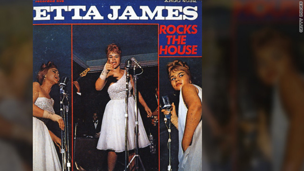 "The singer released her first live album, ""Etta James Rocks the House,"" in 1964."