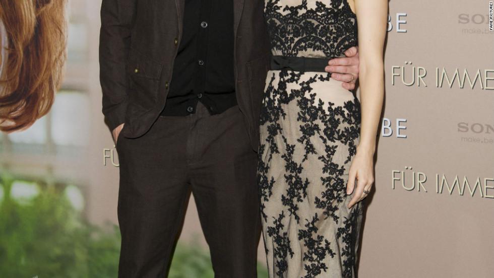 Channing Tatum and Rachel McAdams attend a photo call in Munich, Germany.