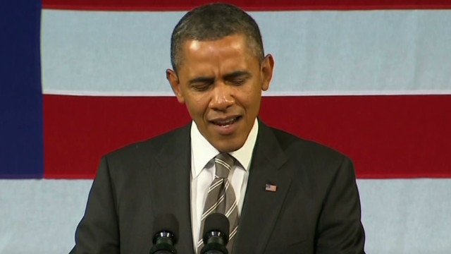 President Obama shows off his singing skills