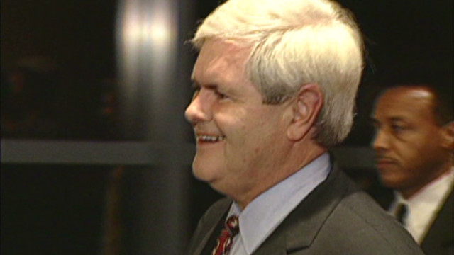 Reporter: Ex against Newt for president