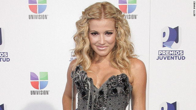 Fanny Lu arrives at Univision's 8th Annual Premios Juventud Awards at Bank United Center on July 21, 2011