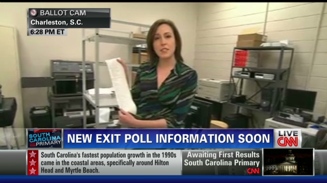 Counting ballots in South Carolina