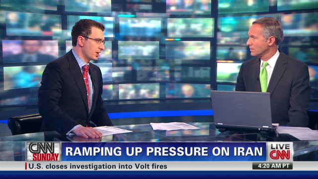 Ramping up pressure on Iran