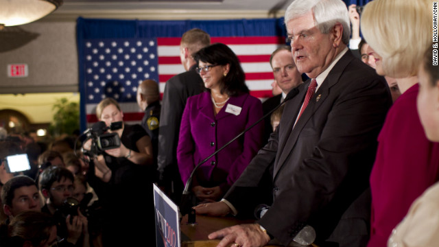Newt Gingrich's 'sledgehammer' approach