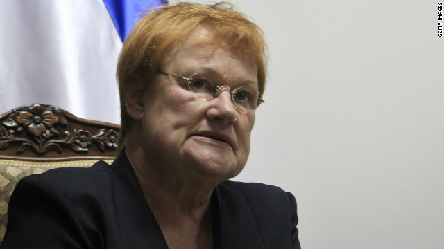 Social Democrat Tarja Halonen is stepping down after serving the maximum two terms as Finland's president.