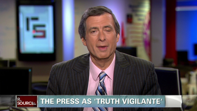 The press as a 'truth vigilante'