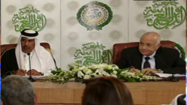Arab League demands al-Assad resign