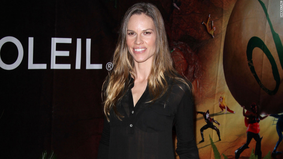 Hilary Swank attends the OVO Cirque Du Soleil opening night in Santa Monica.