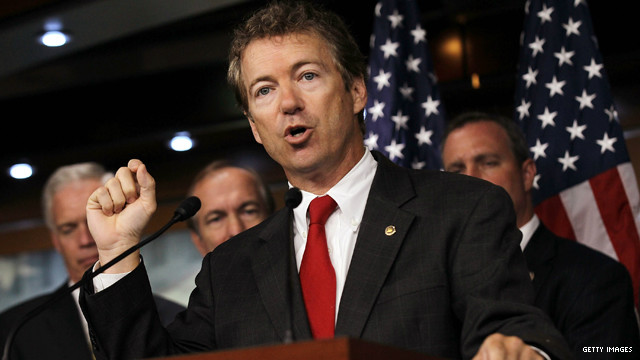Sen. Paul wants aid cut to Libya, Egypt