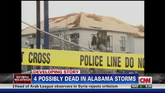State of emergency in Alabama