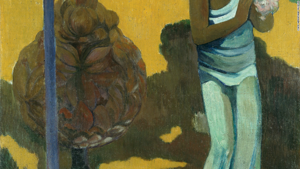 "Other masterworks from the Hermitage and on display in Madrid include ""Te avae no Maria"" (The Month of Mary), by French Post-Impressionist artist Paul Gauguin."