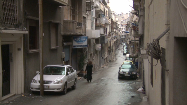 Sound of gunfire is 'new normal' in Homs