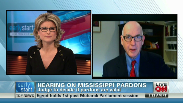 Hearing on Miss. pardons set for today