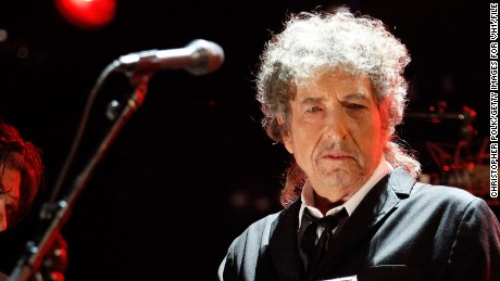 Various artists cover Bob Dylan, pictured here performing at the Critics' Choice Movie Awards in January, on new album.