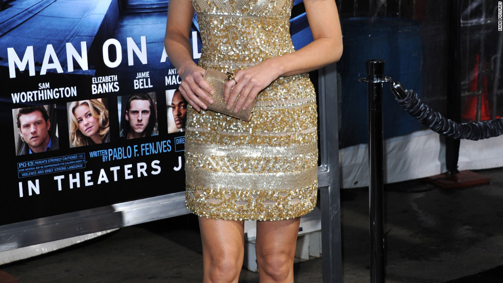 Elizabeth Banks attends a premiere in Los Angeles.