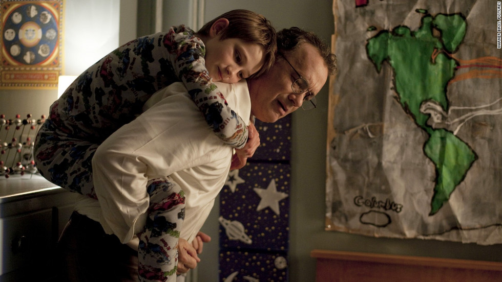 "Stephen Daldry's ""Extremely Loud and Incredibly Close"" stars Thomas Horn as a 9-year-old searching for answers after his father -- played by Tom Hanks -- died on September 11, 2001. Sandra Bullock also stars."