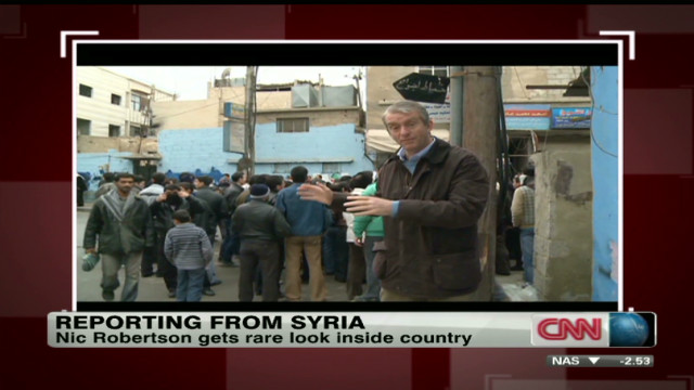 Difficult reporting from inside Syria
