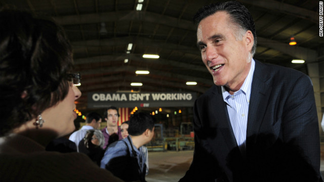 Mitt Romney campaigned in Florida Tuesday before the president's State of the Union address