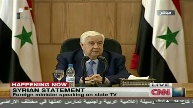 Syria's FM speaks out on the Arab League