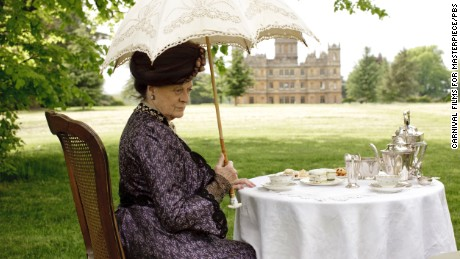 "Dame Maggie Smith played Violet, Dowager Countess of Grantham, on ""Downton Abbey."""