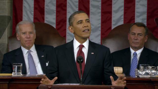 President Obama's SOTU speech pt. 1