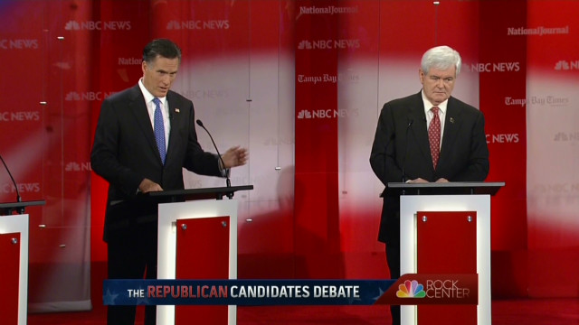 Gingrich, Romney push English in schools
