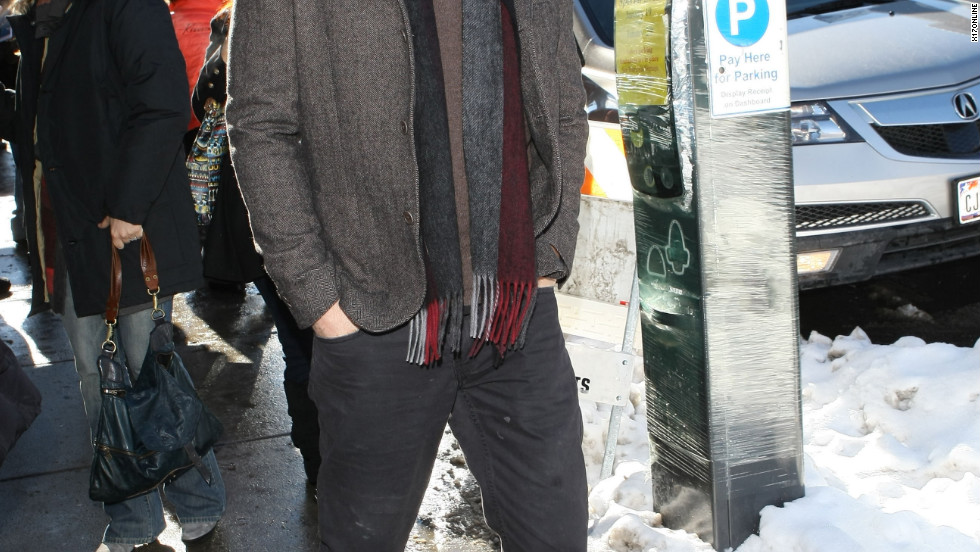 David Duchovny attends the Sundance Film Festival in Park City, Utah.