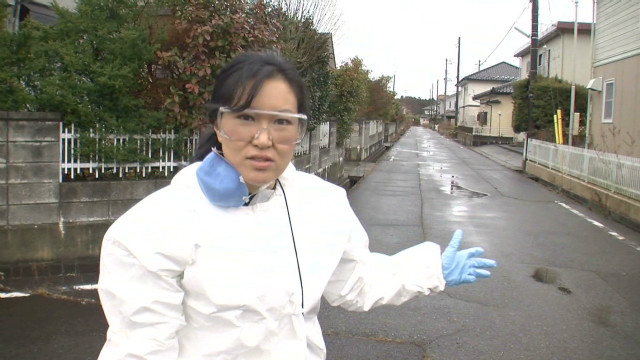 Ghost town: Japan's exclusion zone