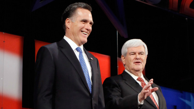 Just two days before the Florida primary, Newt Gingrich is trailing Mitt Romney in the latest polls.