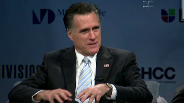 Romney: 'I'm pro-immigration'