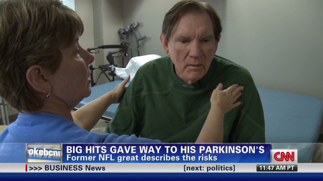 Former NFL great on concussions