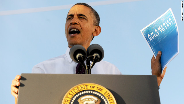 Obama tackles outsourcing, payroll tax
