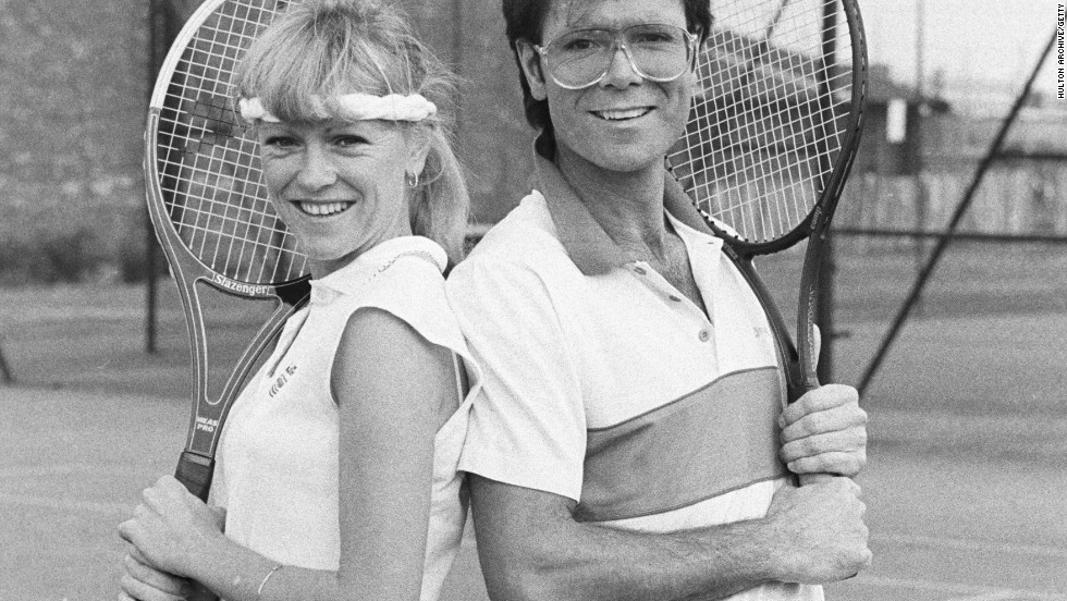 "British pop star Cliff Richard revealed in his 2008 autobiography ""My Life, My Way"" that he nearly asked 1976 French Open winner Sue Barker -- now a TV presenter -- to marry him in 1982. The couple's relationship attracted much press attention. ""I seriously contemplated asking Sue to marry me,"" he wrote. ""But in the end I realized that I didn't love her quite enough to commit the rest of my life to her."""