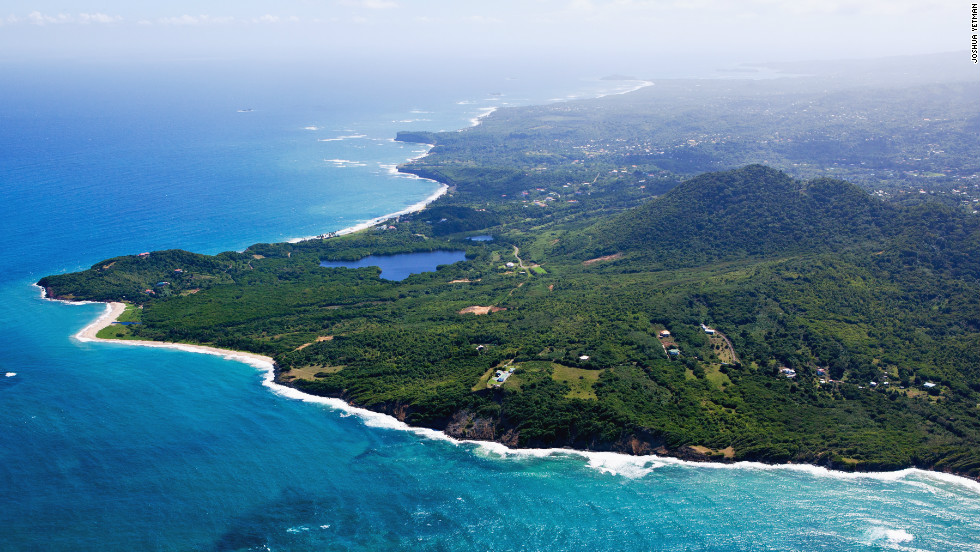 Twenty one miles long and 12 miles wide, Grenada island lies just north of Trinidad and Tobago in the Caribbean