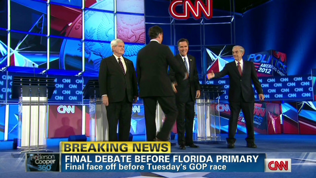 Candidates clash at GOP debate