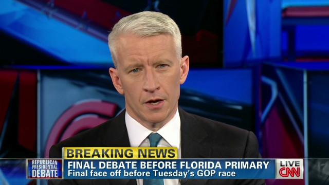 Did Santorum 'rattle' Romney in debate?