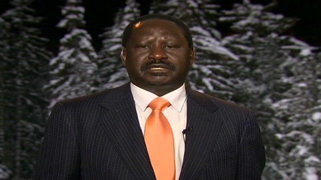 Odinga talks ICC charges