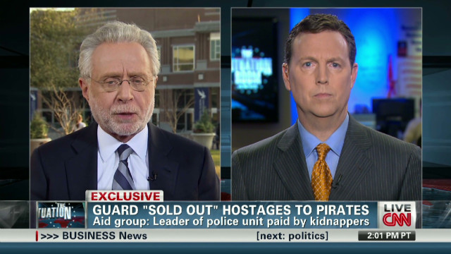 "Guard ""sold out"" hostages to pirates"