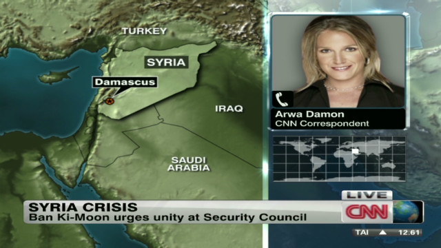 U.N. to discuss more sanctions on Syria