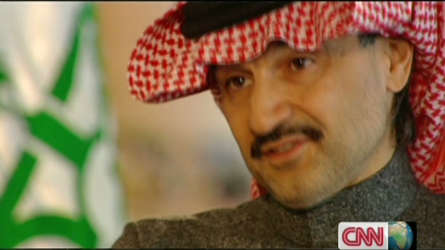 Takling business with Prince Al-Waleed