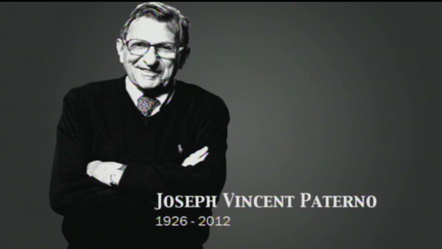 Penn State pays tribute to Joe Paterno