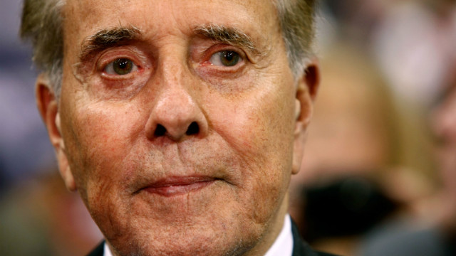 Former U.S. Sen. Bob Dole (R-KS) attends day three of the Republican National Convention (RNC) at the Xcel Energy Center on September 3, 2008 in St. Paul, Minnesota.