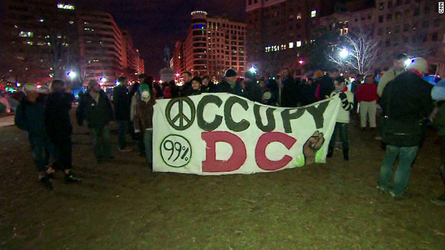 Occupy DC protesters are part of a movement that is having an impact  on the GOP race, says Dean Obeidallah.