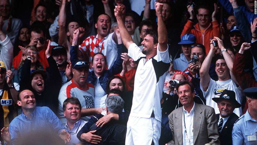 Ahead of Wimbledon in 2001, a 29-year-old Goran Ivanisevic had slipped to 125th in the world rankings. Due to the fact he had been a three-time finalist at the tournament, the Croat was handed a wildcard for the event. What followed was one of sport's great fairytales, with Ivanisevic battling his way into the final where he won a rain-affected match with Australia's Pat Rafter. He is the only wildcard entrant to have won a Wimbledon title.