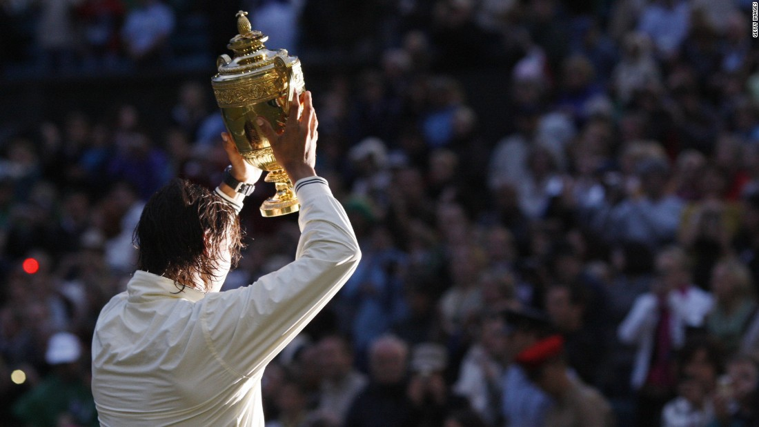 It was seven years ago that Nadal won his first Wimbledon, defeating Roger Federer in what many believe is the greatest tennis match of all time.
