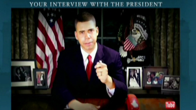 Obama participates in virtual interview