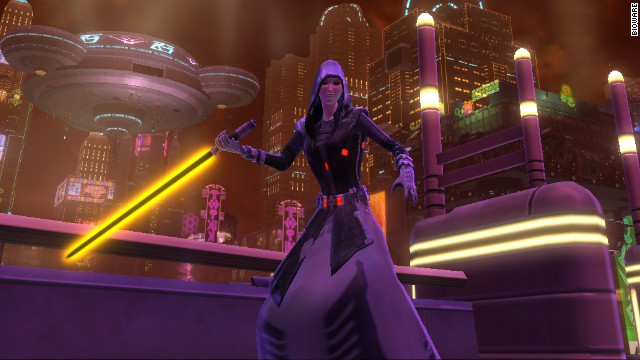 """Star Wars: The Old Republic"" was published by Electronic Arts, which now has exclusive game rights to the franchise."